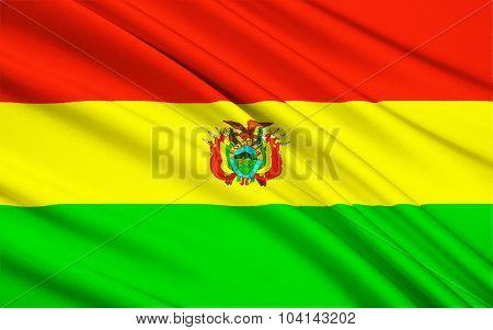 Flag Of Bolivia, Sucre