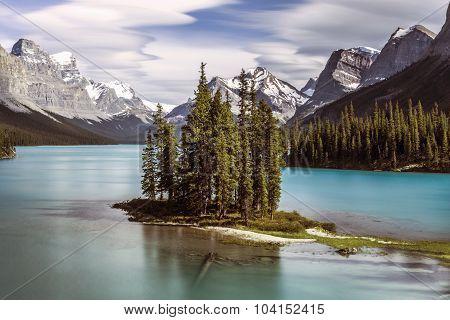 Spirit Island in Jasper