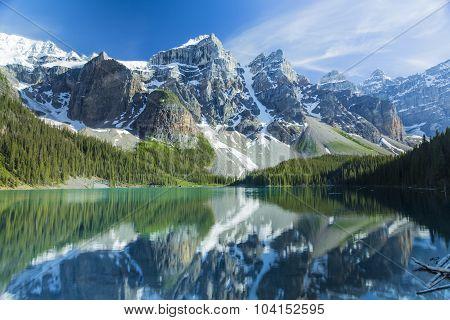 Moraine Lake Calm