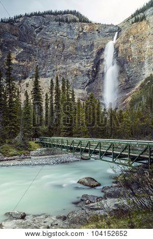 Takakkaw Falls in BC