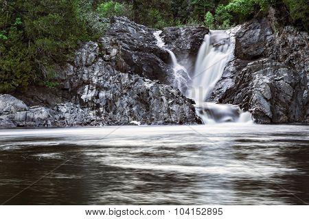 Silver Falls in Wawa
