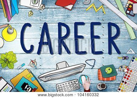 Career Work Job Employment Recruitment Concept