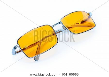 Yellow Night Glasses Eyewear