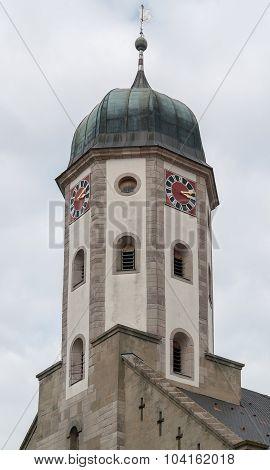 Clock Tower In Buehlertann