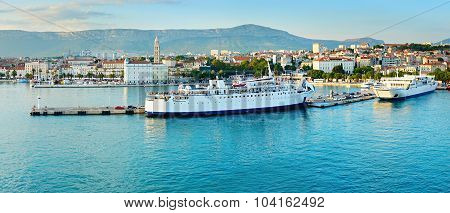 Split Port. Croatia