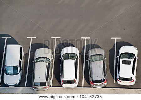 Car Park, Aerial View