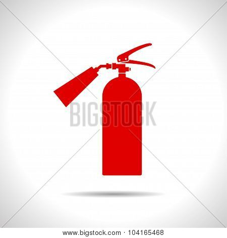 flat fire extinguisher