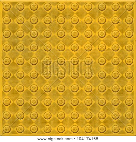 Warning industrial plate background