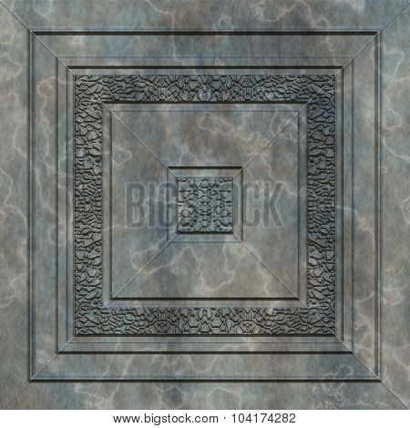 Ornamental, decorative artificial marble texture, background