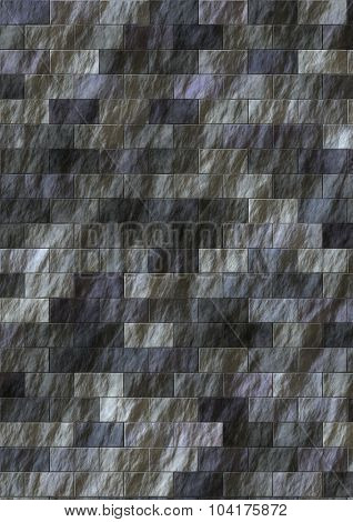 Artificial cutted granite stones texture