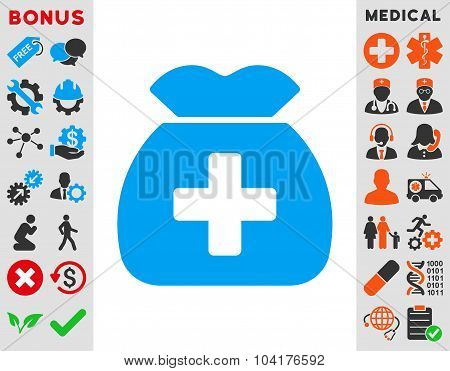 Medical Capital Icon