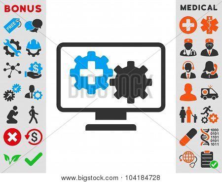 Medical Process Monitoring Icon