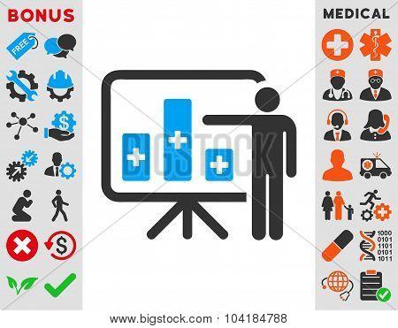 Medical Public Report Icon