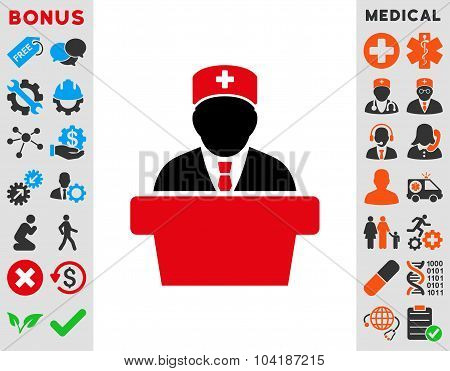 Health Care Official Icon