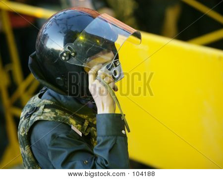 Policeman -  Photographer