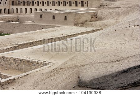 Pachacamac Acllahuasi (house Of The Choosen Women)