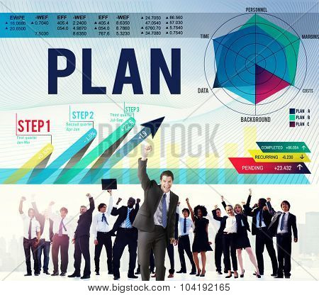Strategy Planning Vision Growth Success Concept