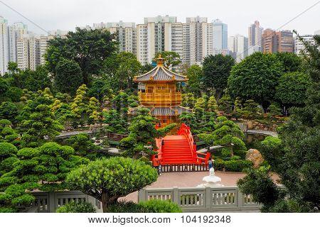 Nan Lian Garden park.