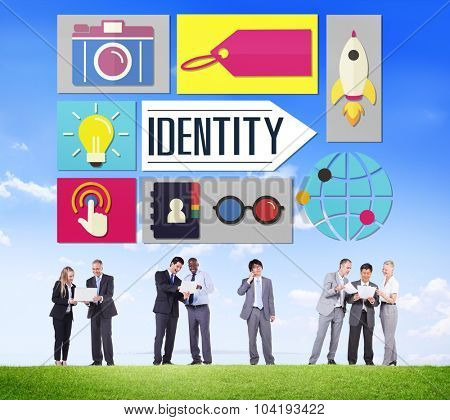 Identity Branding Brand Marketing Business Concept