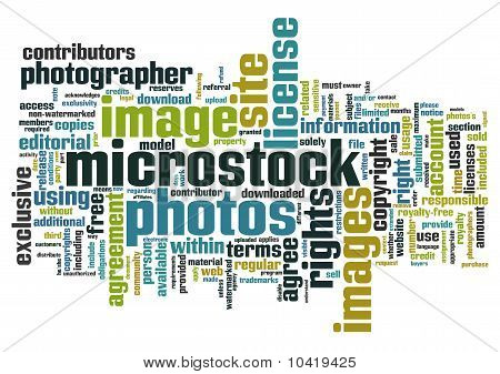 Microstock words