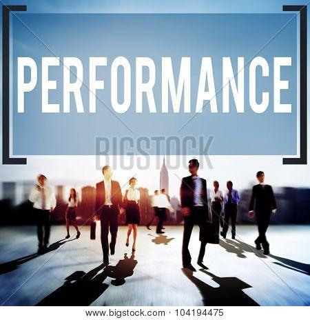 Performance Development Improvement Perform Concept