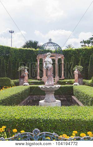 Aphrodite sculpture in the park