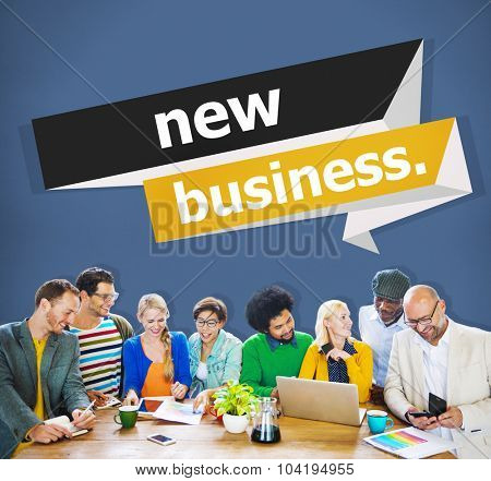 New Business Start up Strategy Ideas Creativity Concept