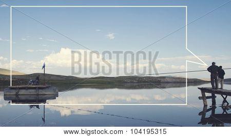 Traditional Culture Lake Landscape River Concept