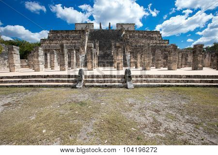 Chichen Itza feathered serpent pyramid, Mexico