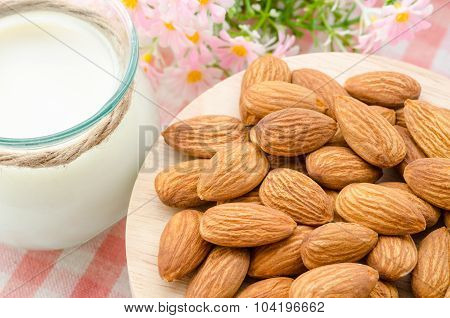 Almond With Milk Almond.