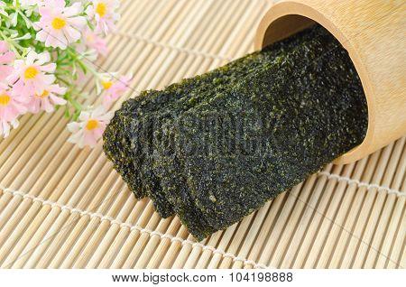 Fried Seaweed.