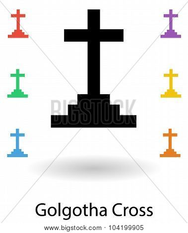 Golgotha Cross Vector Set