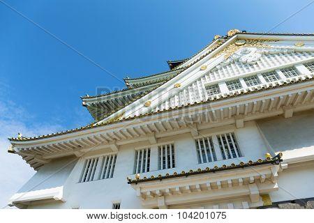 Osaka Castle in Japan Kansai district
