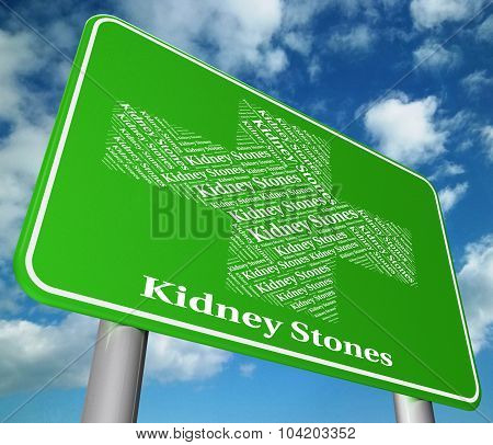 Kidney Stones Indicates Ill Health And Afflictions