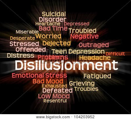 Disillusionment Word Means World Weary And Cynical