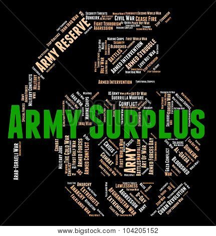 Army Surplus Shows Defense Forces And Armed