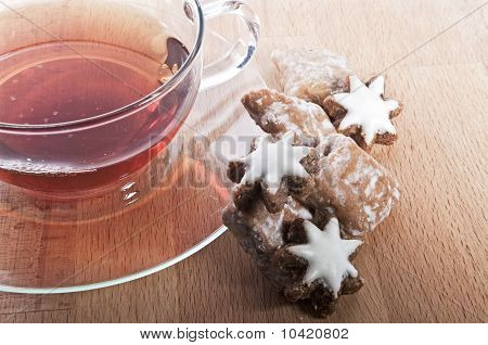 Tea at christmas