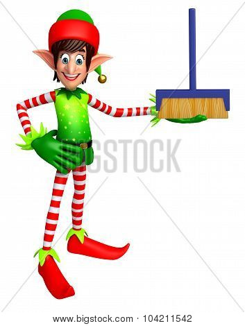 Elves With Cleaning Mob