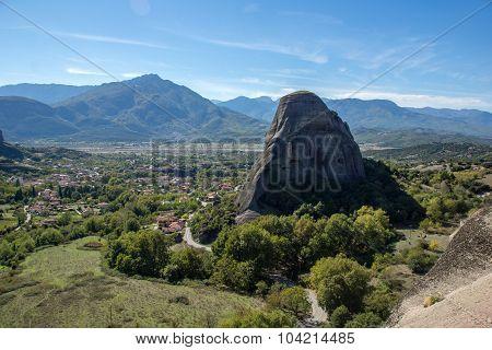 Village of Kastraki near Meteora, Trikala, Thessaly