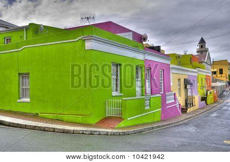 Cape Town - Bo Kaap Quarter