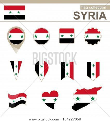 Syria Flag Collection