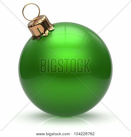 New Year's Eve Christmas Ball Bauble Winter Decoration Green