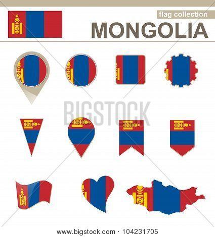 Mongolia Flag Collection