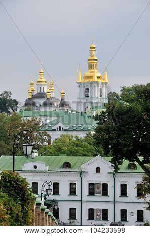 Kyiv, Ukraine - Oktober 5, 2015 year: Kiev Pechersk Lavra or Kyiv Pechersk Lavra.