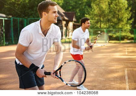 Concept for male tennis players