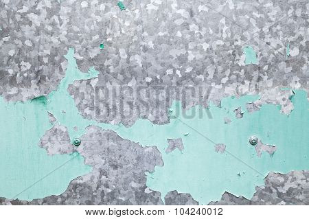 Galvanized Iron Plate With Green Paint Layer