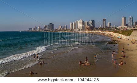 Tel Aviv, waterfront
