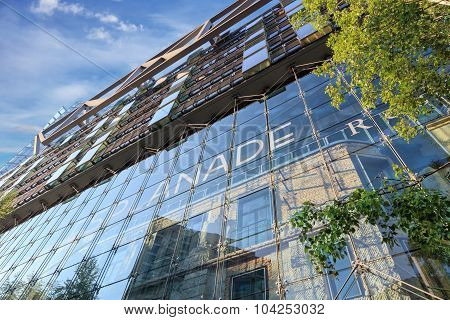 Berlin, Germany, - August 29, 2015: Potsdamer platz