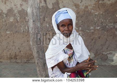 Portrait Of An Afican Women