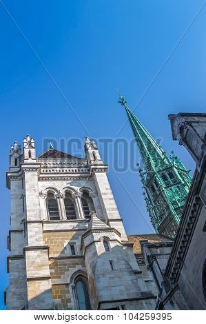 St. Pierre Cathedral of Geneva, Switzerland